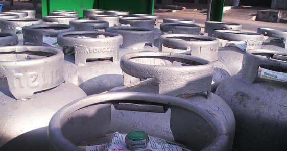 Vazamento no botijão de gás